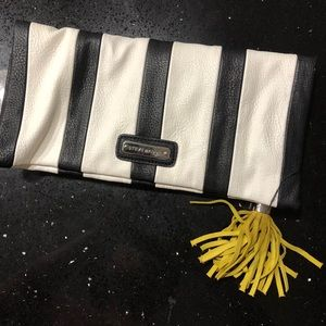 Steve Madden Striped Clutch